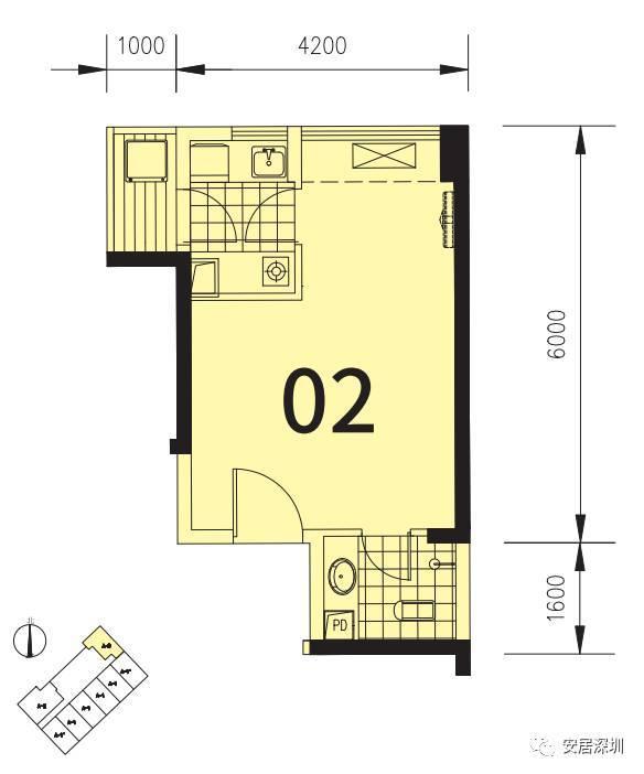 2017年龙华区户籍860套公租房户型图全公开,你想了解的户型信息都在这图片