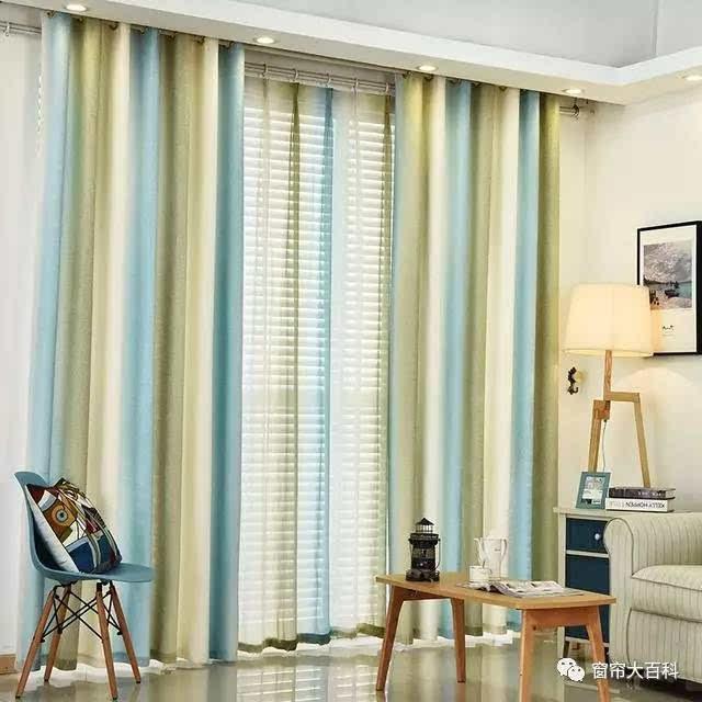 17年流行的遮光窗帘,客厅上升不止一个档次