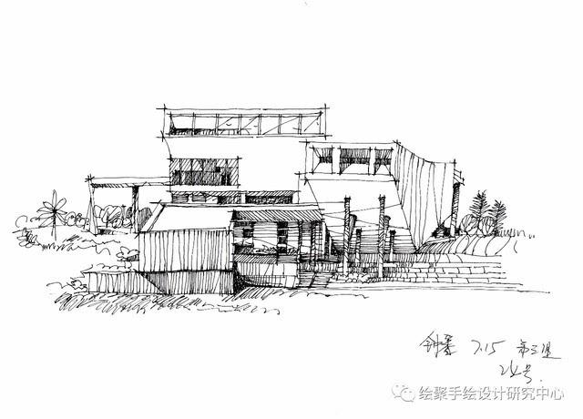 绘聚手绘暑期集训营——【建筑基