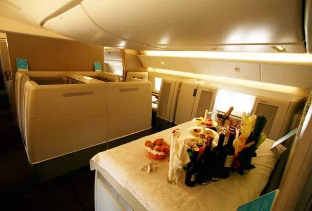 經濟艙和頭等艙的區別竟然是這樣的!圖片