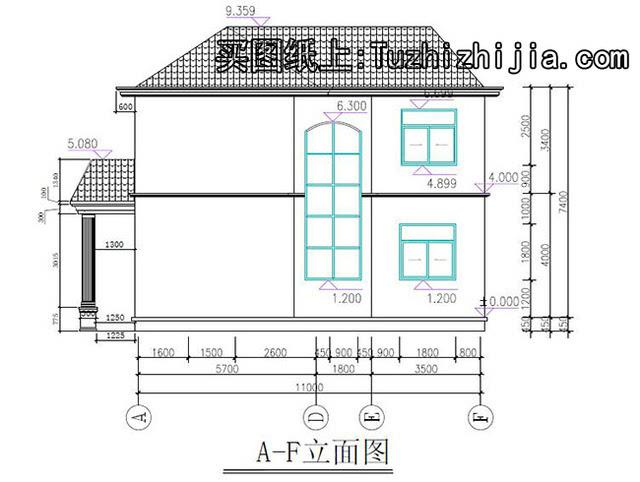 农村二层楼房设计图纸,盖好后让你有面子的户型!