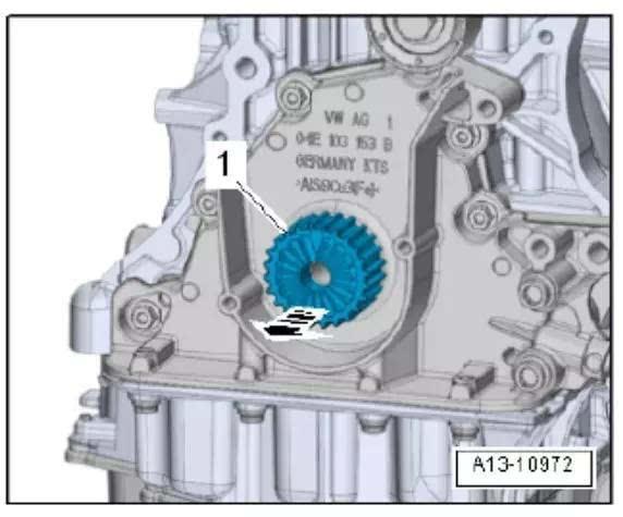 大众奥迪ea211发动机正时校对方法