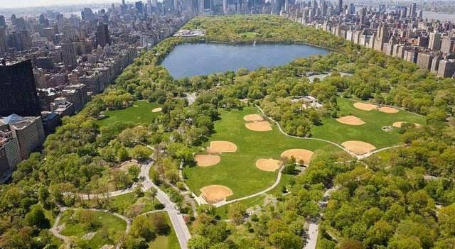 有著名的美国纽约中央公园,巴黎凡尔赛公园图片