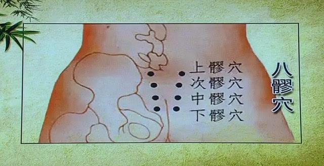 拭腰骶部在那个位置�_经常搓八髎穴对有慢性腹泻,慢性膀胱炎,慢性盆腔炎,腰骶部冷痛,男性