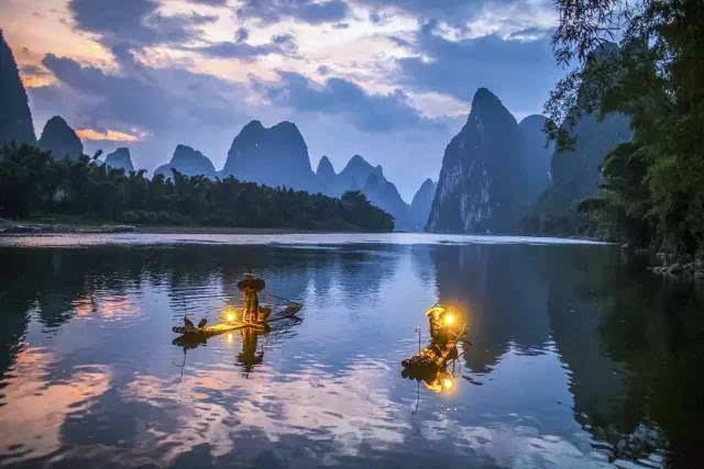 广西的风景美如画,你还舍得走吗?