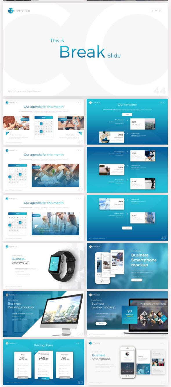 可以用于公司或者个人使用,模板整体很容易改变配色,只需在powerpoint