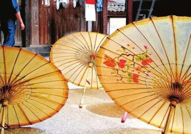 腾冲油纸伞