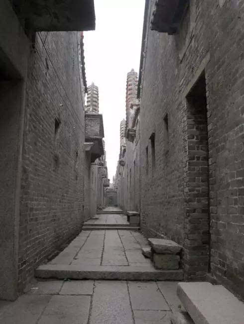 冷巷被誉为岭南传统建筑的精髓