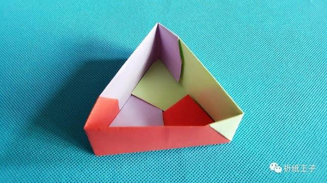 折纸王子教你三角形盒子简单又漂亮
