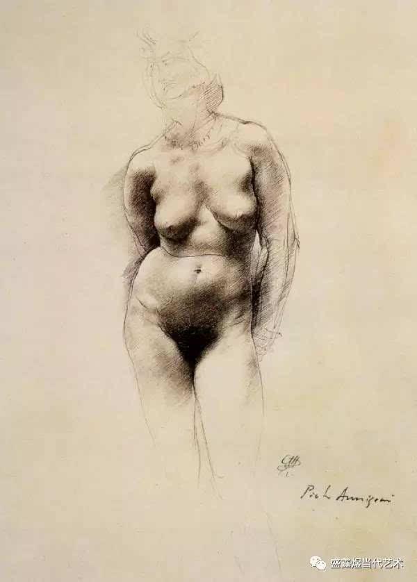 阿尼戈尼素描:继承传统绘画技法的大师