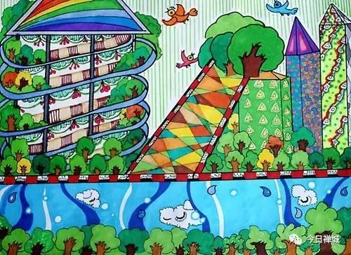 禅城爸妈,原来你家萌娃心中的森林城市是这样的.图片