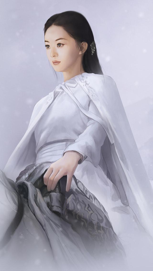 《楚乔传》手绘赵丽颖神还原 画风太美网友直呼太像了