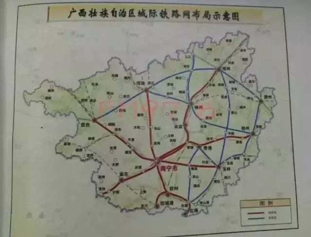 玉林地区最新规划图