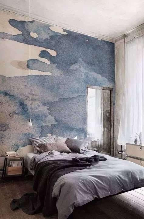 【墙绘】打破传统,室内设计新时尚