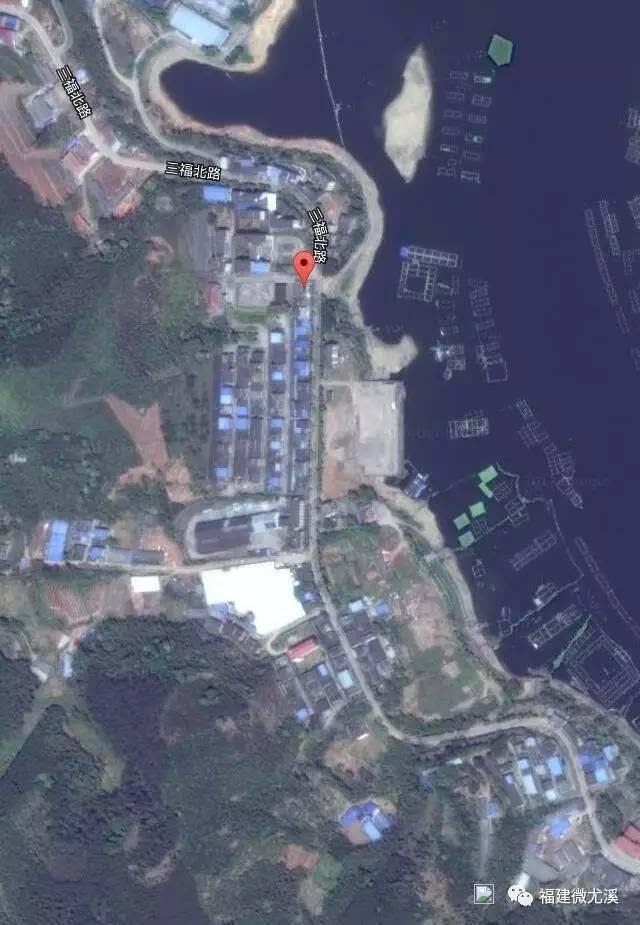 认识邻居,卫星拍摄到的尤溪各乡镇地图,让你震惊!图片