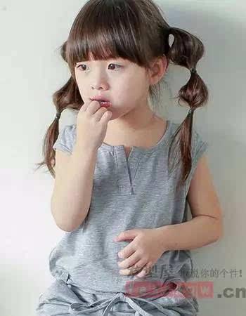 韩国小公主发型扎发 甜美可爱最时尚