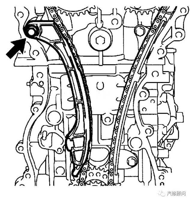 【汽车正时】丰田汉兰达(2.7l 1ar- fe)发动机正时校对