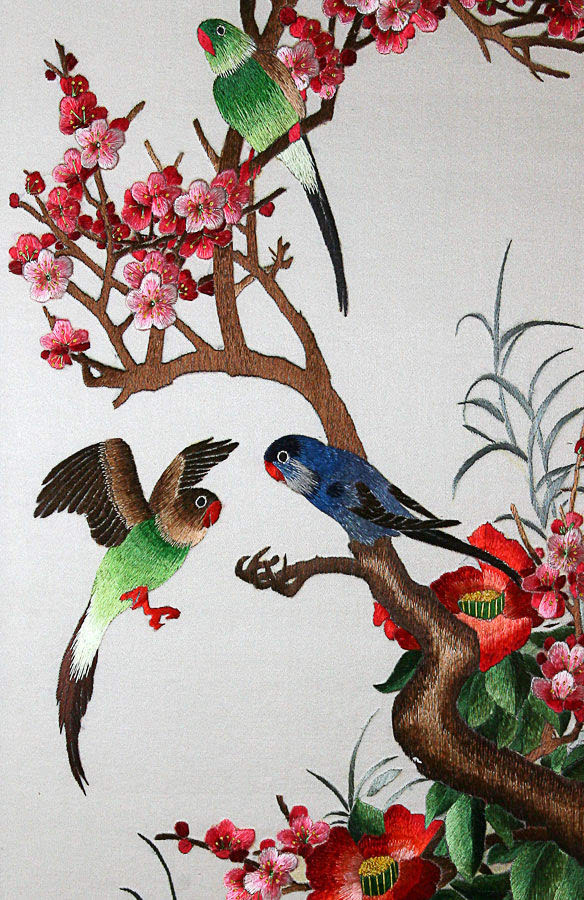 【美文】刺绣中国风~大美山水画