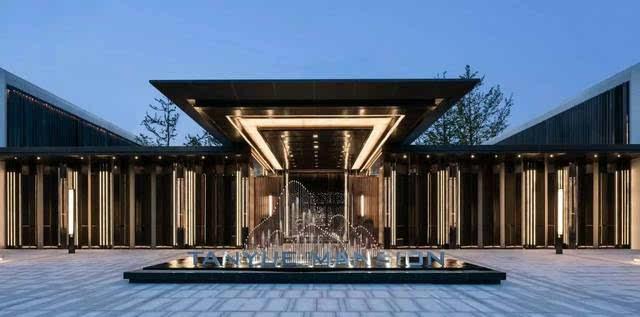 杭州现代建筑手绘速写
