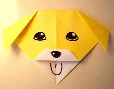 所以第一项手工折纸就是这个可爱的小动物,相信同学们一定会喜欢的!