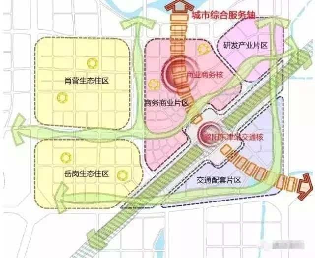 襄阳新地标就此诞生 东津高铁站周边规划震撼出炉,2019年投用
