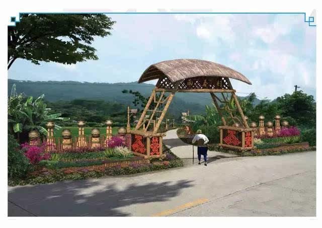 海南美丽乡村建设—保亭毛感乡南春一二村图片