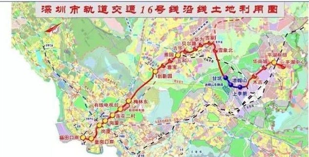 确认啦 深圳地铁14号线和16号线将通往惠州南