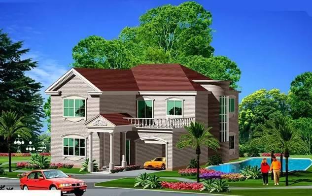 2间房子农村设计图纸