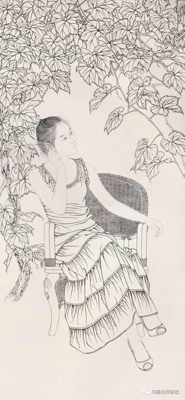 【策划 · 讲座】《蝉鸣》工笔人物画技法解读