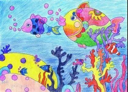 """""""生成式美术教育""""来袭,画出孩子心里的""""海底世界""""!图片"""