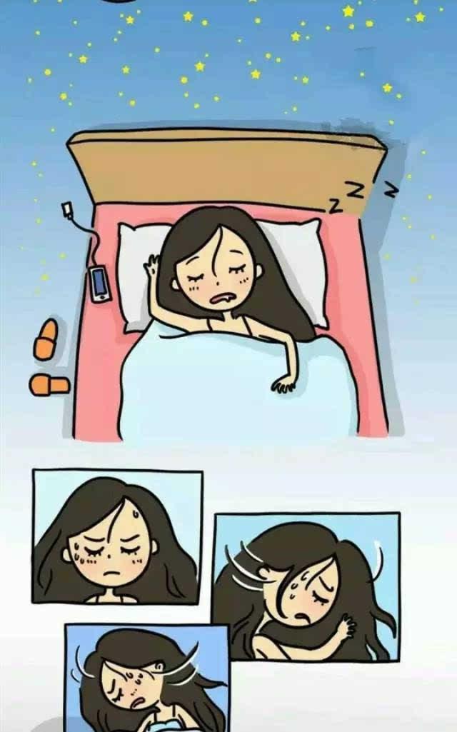 睡觉做梦卡通图片大全