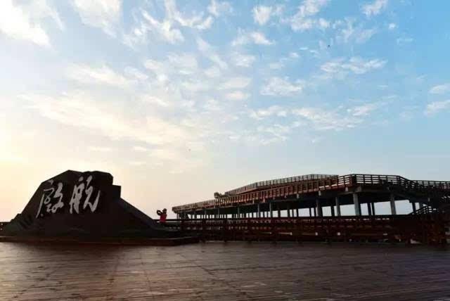 """葫芦岛自己的红海滩——兴城红海栈道正式扬帆""""启航"""",快来先睹为快吧!"""