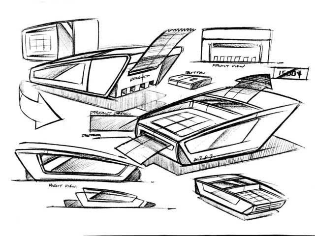 作品展示 | 武汉卓尔谟考研手绘第7天—线稿篇