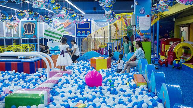 室内儿童游乐园加盟需要多少钱