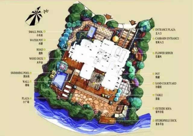 80个,小庭院设计方案