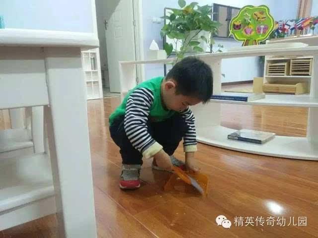 孩子观察动物模型图片