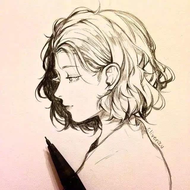 宫崎骏素描手绘