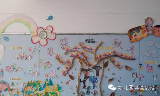 秋天的童话—创意秋季主题墙设计欣赏