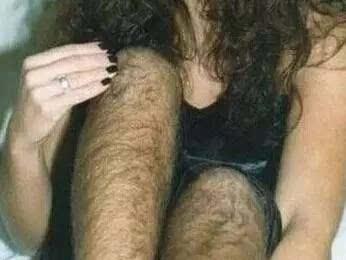 世界上体毛最长的女人,剪掉体毛后