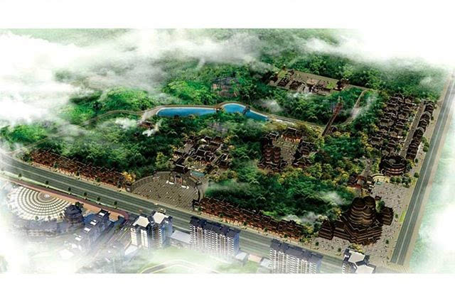 施南古城二期(旅游区一期工程)项目鸟瞰图发布