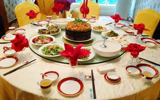 【舟山世豪大酒店】中餐西餐厅摆台技巧很难?那是因为图片