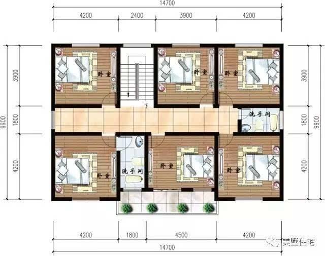 79平方米 结构类型:砖混结构 关注微信公众号:美墅住宅(长按可复制)