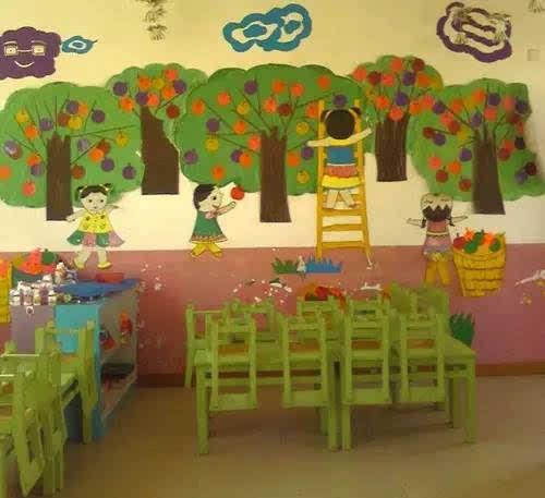 幼儿园教室餐厅设计图片展示