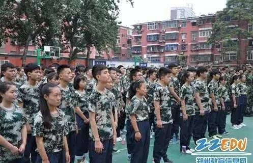 假如贵在期间郑州各作文校高中高中圈,一定是这样朋友长发a作文坚持军训图片