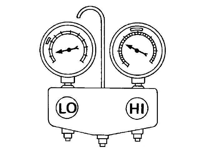 """学会通过高低压力判断空调故障,秒变""""老师傅""""-汽车图片"""