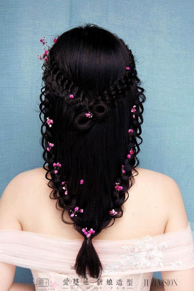 简单秀禾发型图解步骤