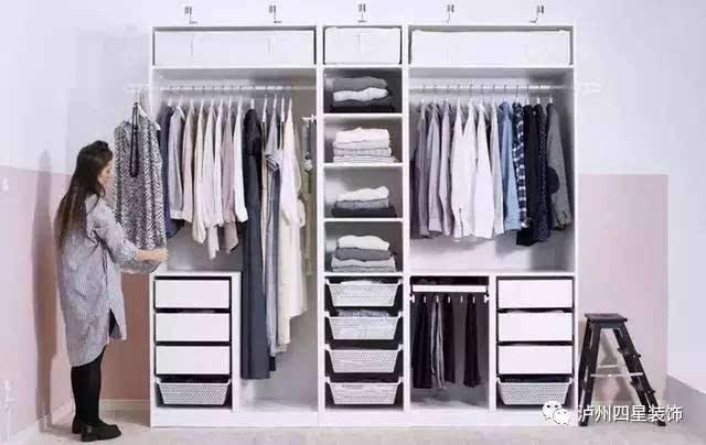 衣柜内部结构图,让你家的衣柜更加能装!
