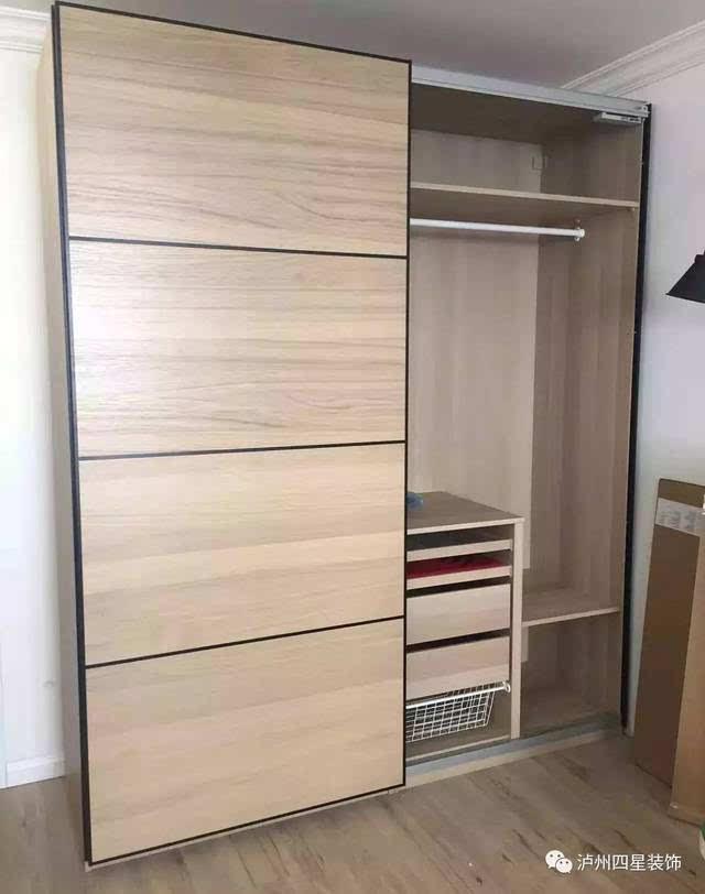 衣柜内部结构图,让你家的衣柜更加能装