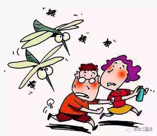 谁说蚊子听不懂人话图片