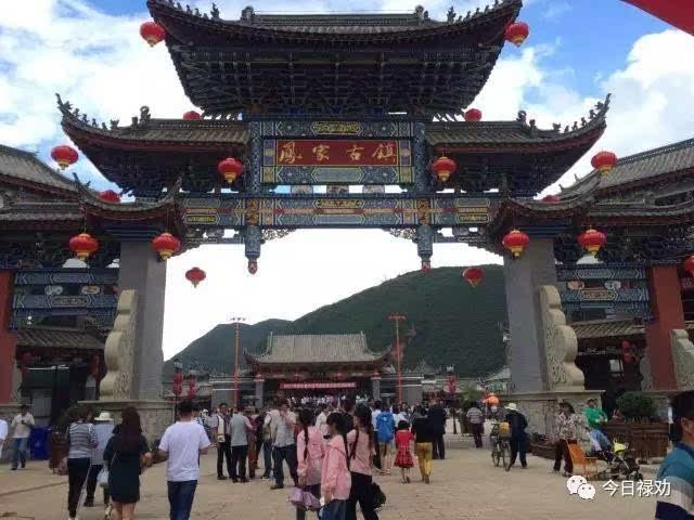 今日禄劝 云南禄劝2017年凤家古镇首届野生菌美食节